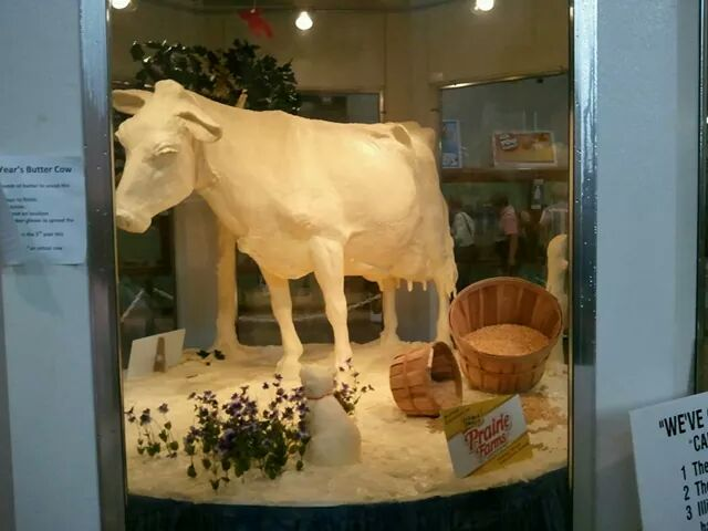 Butter Cow!