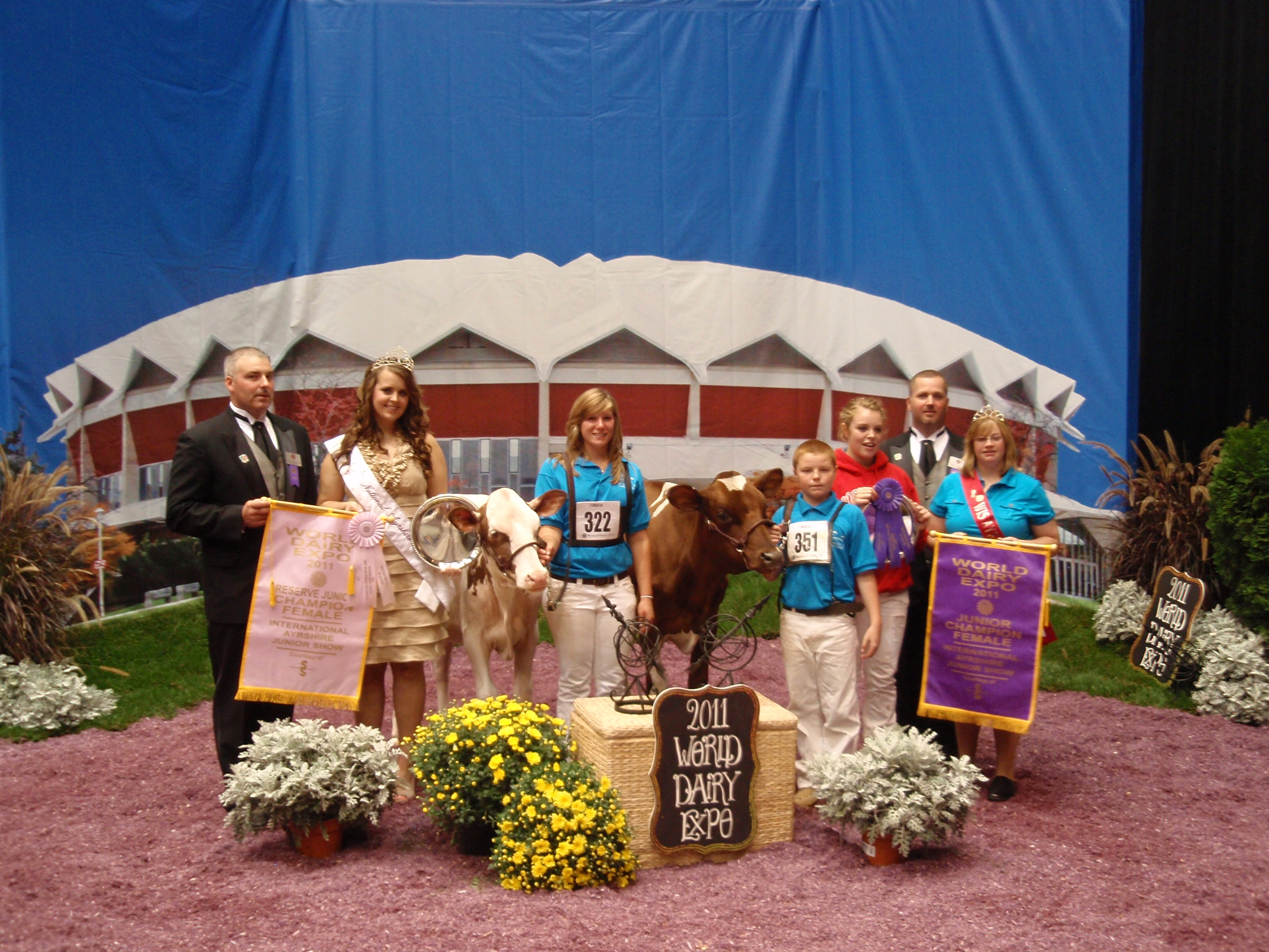 Darcy was Reserve Junior Champion (Junior Show) at the 2011 WDE.