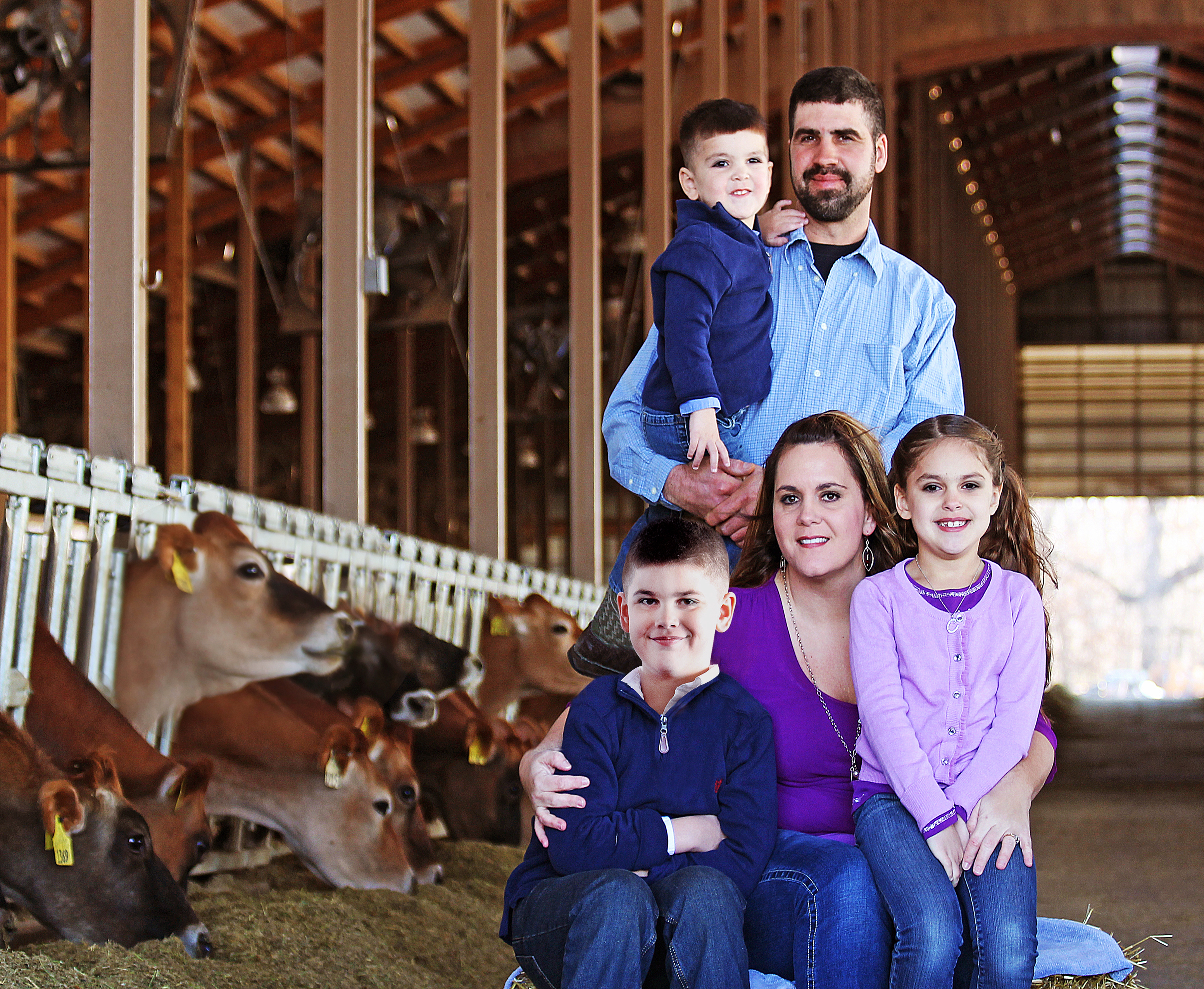 We are a family farm and proud of it! We take great pride in caring for our cattle and land that in return care for us! Karen Bohnert