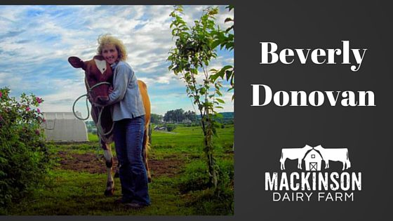 Meet Beverly Donovan, of Deer Hill Ayrshires from Maine!