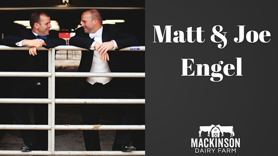 Meet Matt & Joe Engel of Luck-E Holsteins from Hampshire, IL!