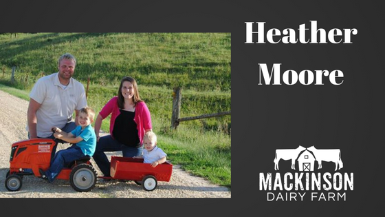Meet Heather Moore a dairy farmer from Iowa!