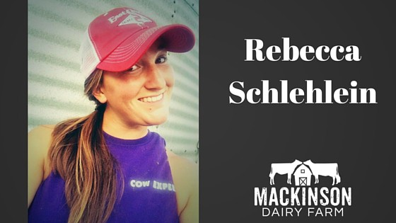 Meet Rebecca Schlehlein of Weigel Dairy from Platteville, WI!