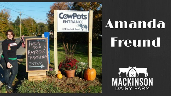 Women in Dairy: Amanda Freund from East Canaan, Connecticut