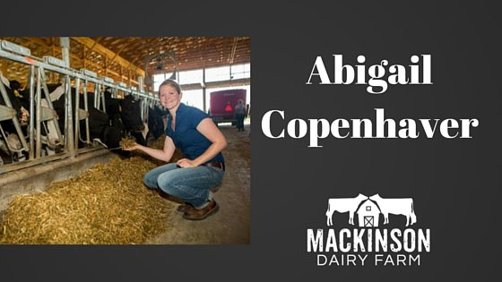 Women in Dairy: Abigail Copenhaver of Farmstead Nutrition from Stanley, New York.