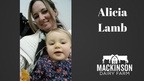 Women in Dairy: Alicia Lamb of Oakfield Corners Dairy from Oakfield, New York.