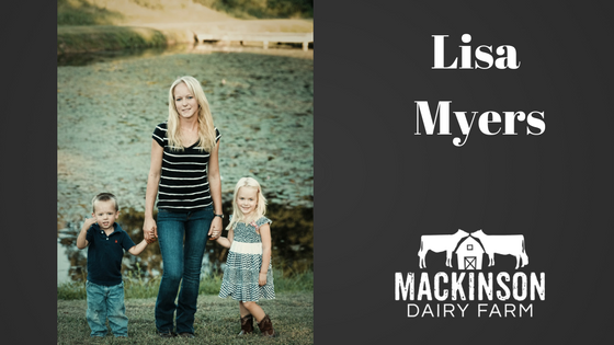 Women in Dairy: Lisa Myers from Hampstead, Maryland.