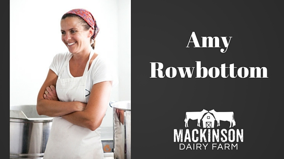 Women in Dairy: Amy Rowbottom of Crooked Face Creamery in Norridgewock, Maine.