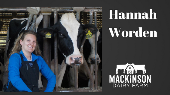 Women in Dairy: Hannah Worden of Will-O-Crest Farm in Clifton Springs, New York