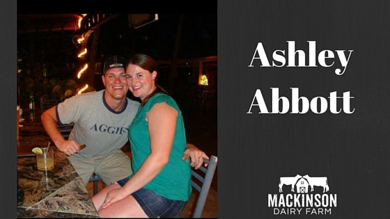 Women in Dairy: Ashley Abbott from Staunton, Virginia