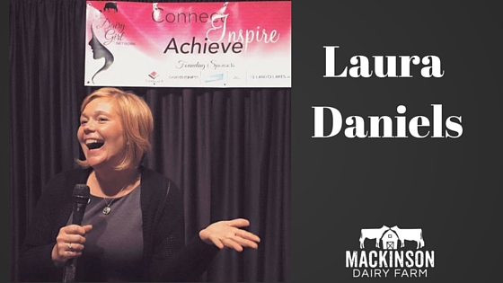 Women in Dairy: Laura Daniels of Heartwood Farms from Cobb, Wisconsin