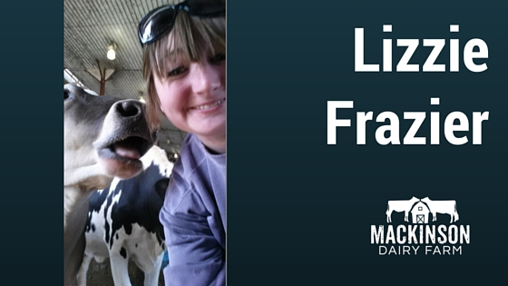 Women in Dairy: Lizzie Frazier from Beatrice, Nebraska