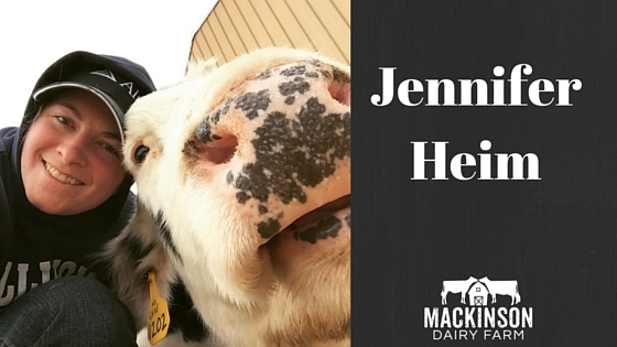 Women in Dairy: Jennifer Heim from Easton, Kansas