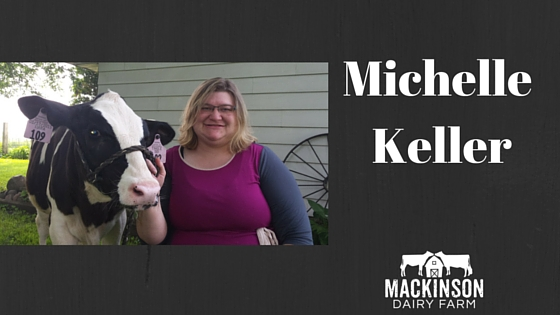 Women in Dairy: Michelle Keller from Mount Horeb, Wisconsin