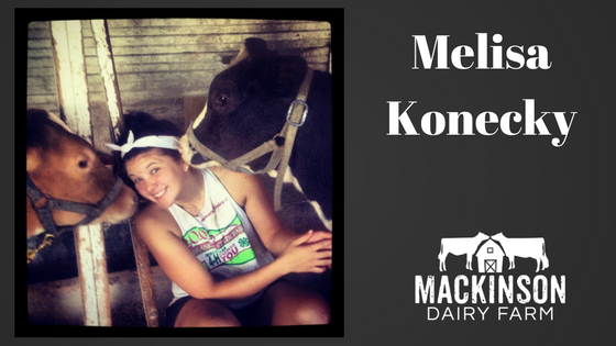Women in Dairy: Melisa Konecky from Wahoo, Nebraska