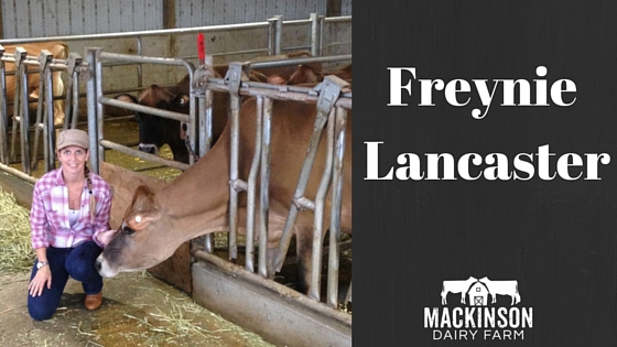 Women in Dairy: Freynie Lancaster of Royalty Ridge Farm