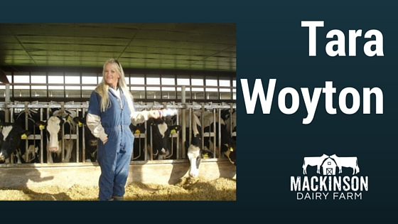 Women in Dairy: Tara Woyton from East Aurora, New York