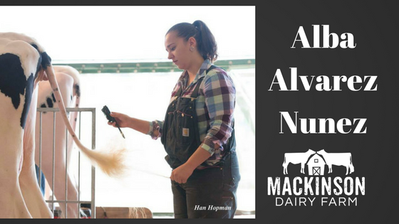 Women in Dairy: Alba Alvarez Nuñez from Vegadeo, Asturias, España
