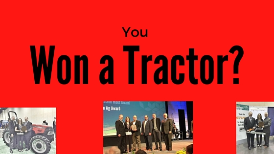 You Won a Tractor?