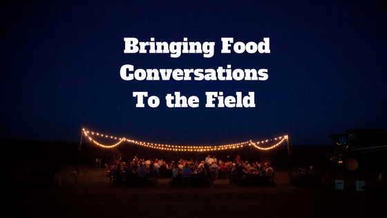 Illinois Harvest Dinner Brings Food Conversation to the Field